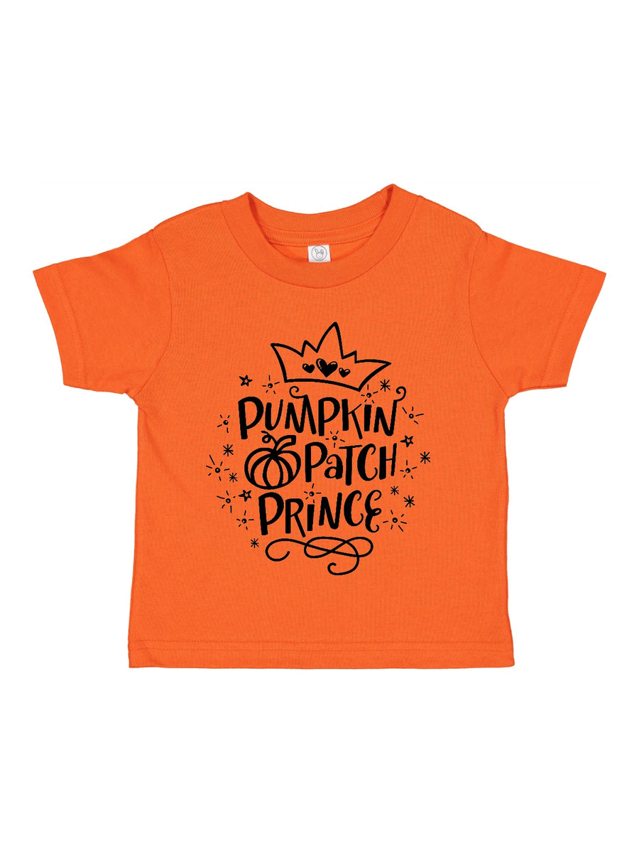 pumpkin patch prince kids shirt