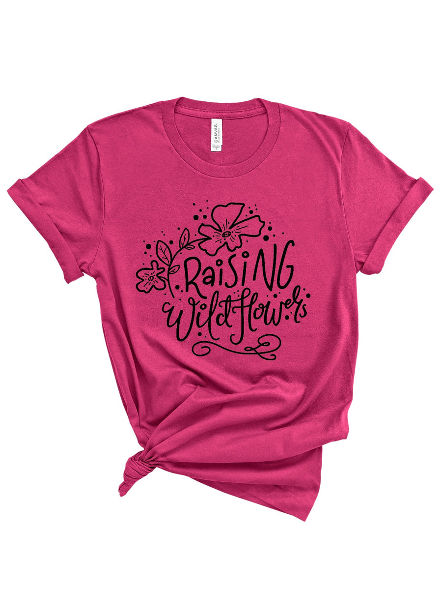 Raising Wild Flowers Women's - Berry