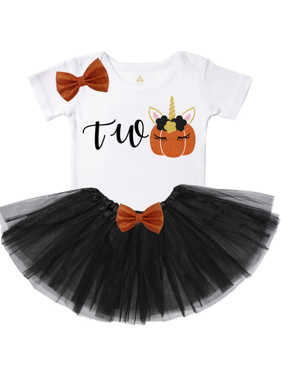 Two Unicorn Tutu Outfit