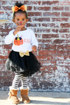 kids personalized Halloween tutu outfit