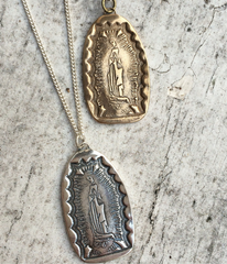 Virgin of Guadalupe Pendant Necklace
