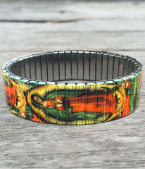 The Virgin of Guadalupe Art Bracelet