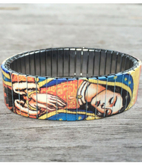 Virgin Mary Art Bracelet