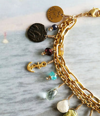 Sea of Galilee Charm Bracelet - Christian Jewelry  - 4