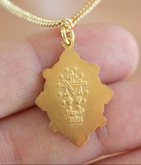 Miraculous Medal Necklace - Christian Jewelry  - 3