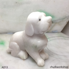 Pale lavender jade dog