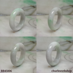 Pale green new born baby bangle