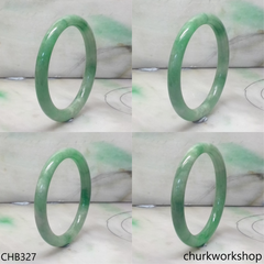 Small green jade bangle