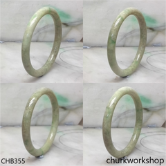 Light green base with green jade bangle