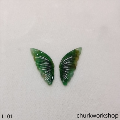 Green jade butterfly