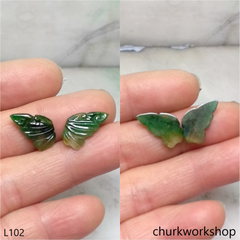 Small green jade butterfly