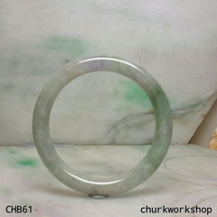 Lavender jade bangle
