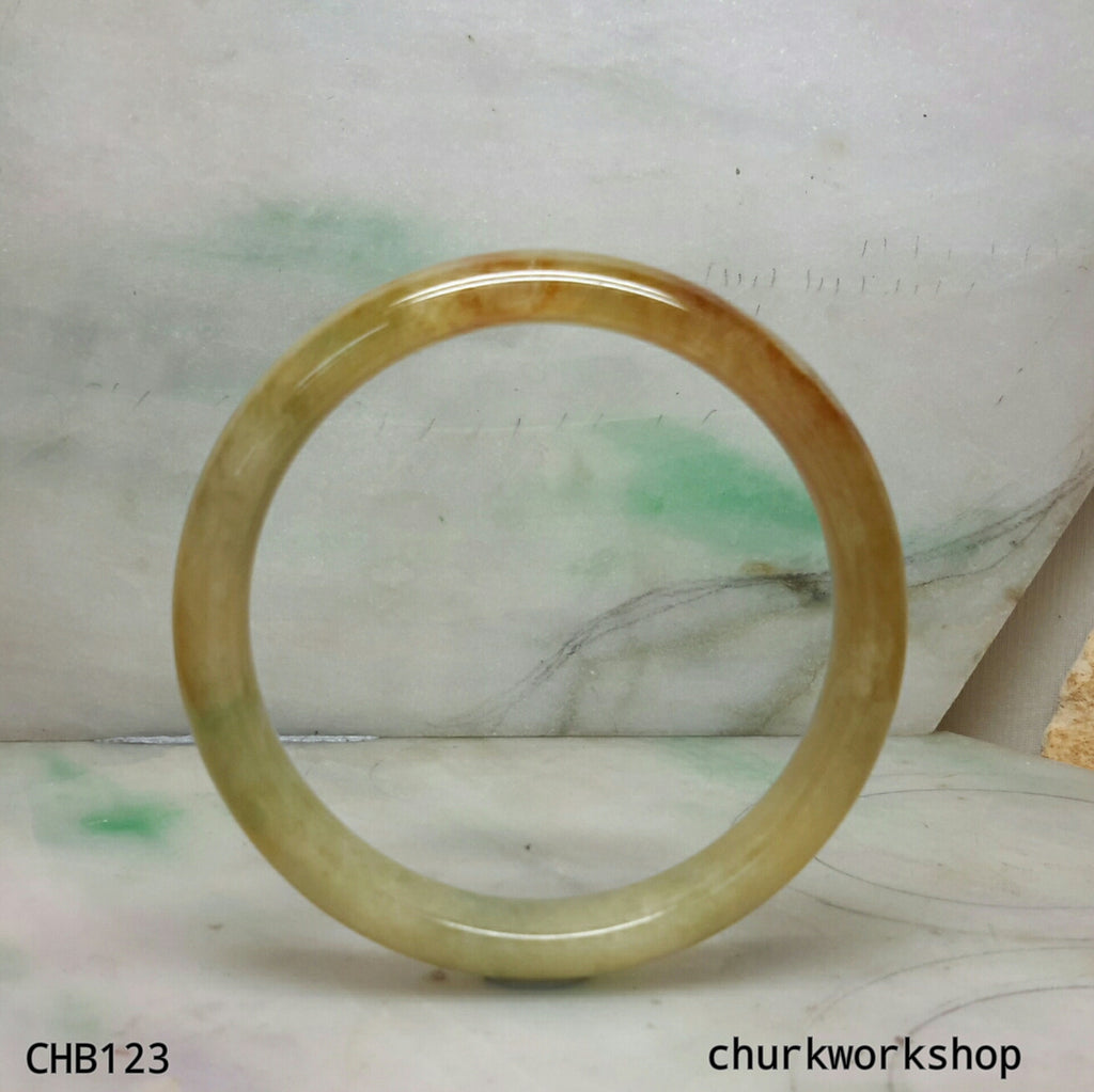 Brown jade bangle