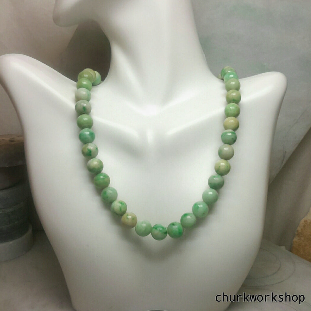 shop churk green photogrid necklace products beads jade work