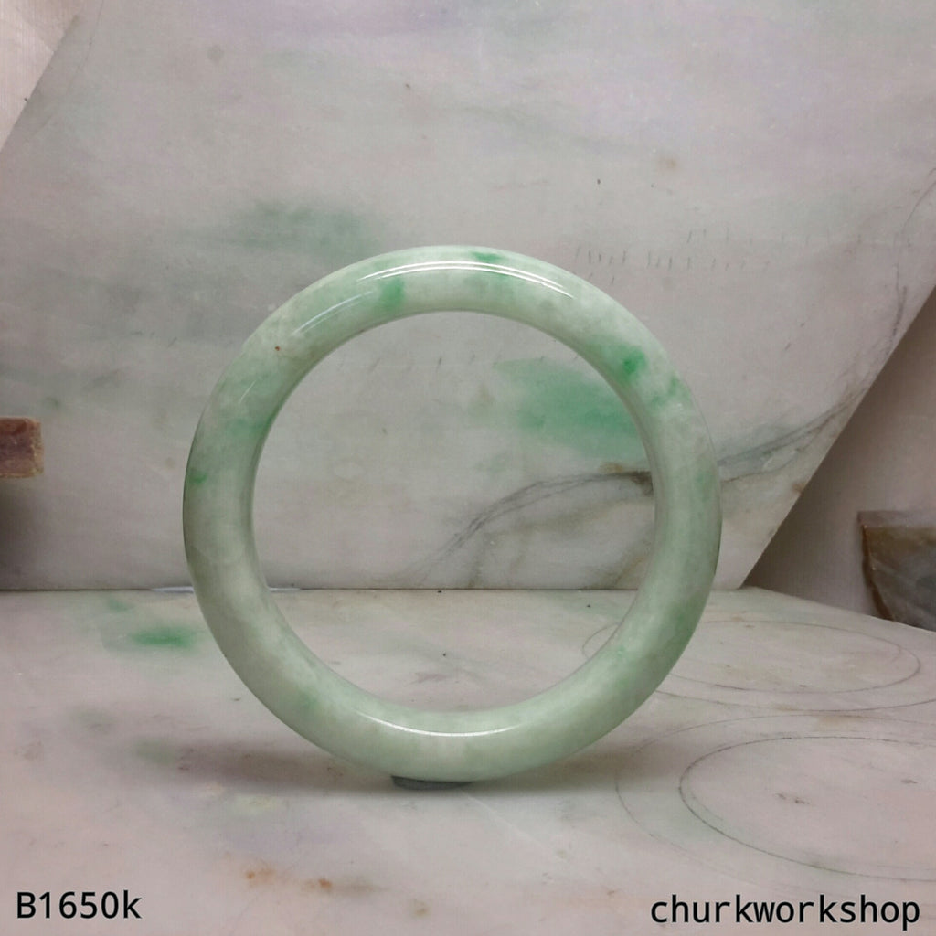 Jade bangle, green jade bangle