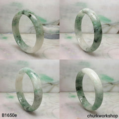 Reserved  Spinach green jade bangle