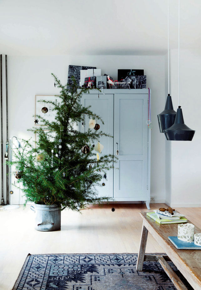 Perfect Christmas Tree in Photographer's Danish Home
