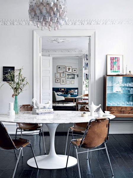Nordic Mix in the home of Danish fashion designer Heidi Hofmann