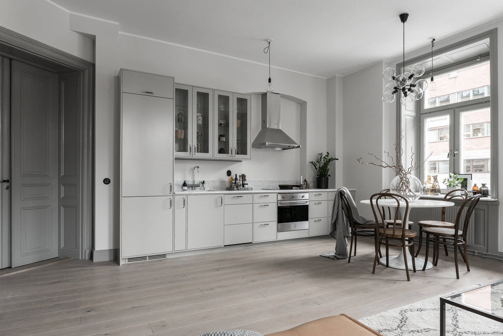 Kitchen | Dining Area in Beautiful Stockholm Apt.