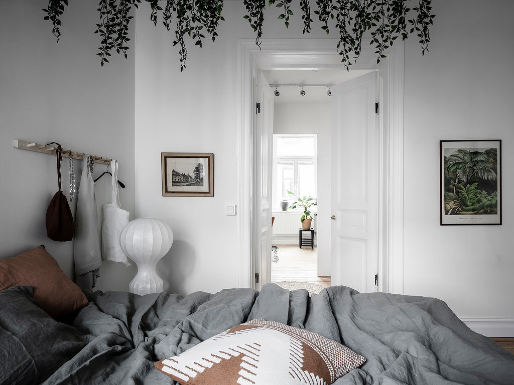 Beautiful Swedish bedroom