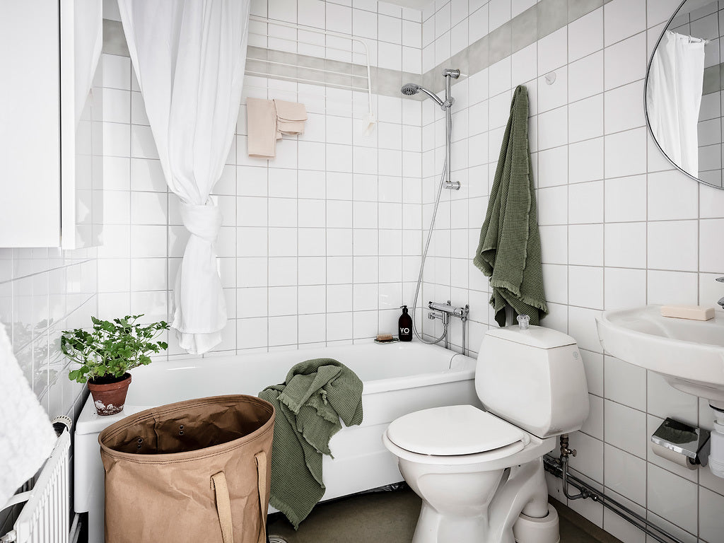 Bathroom in Swedish apartment