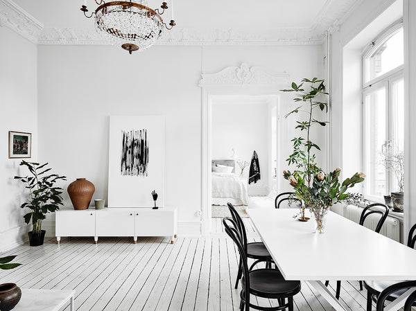 Swedish apartment with Classic Nordic style