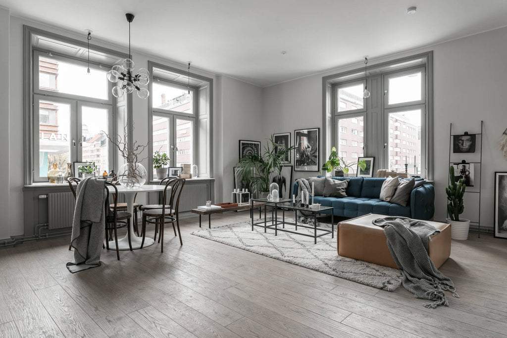 Stockholm apartment with Soft Greys