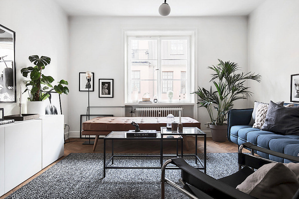 Stockholm Style | Apartment with touch of blue 2