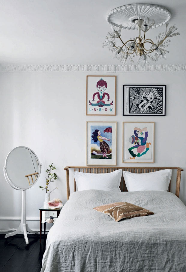 Nordic Mix in the Bedroom of Danish Designer