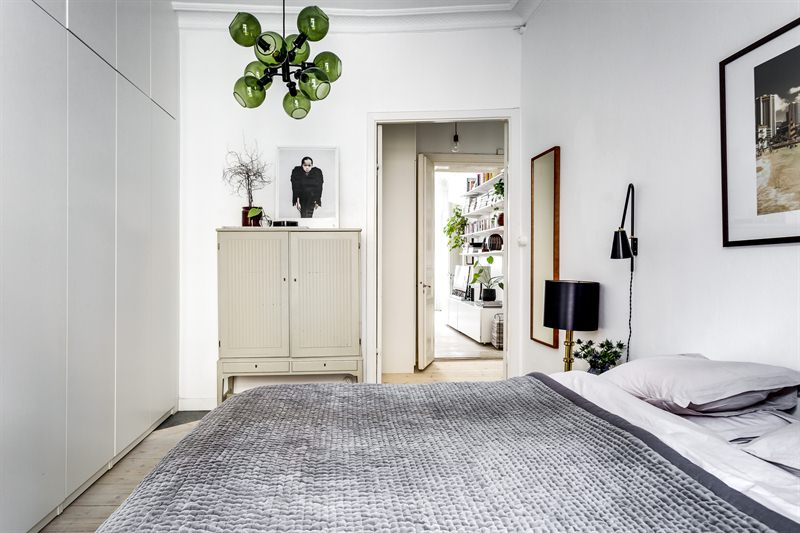 Scandinavian Style in Gothenborg bedroom sig8