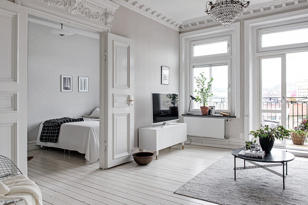 scandinavian style apartment surbrunnsgatan 9