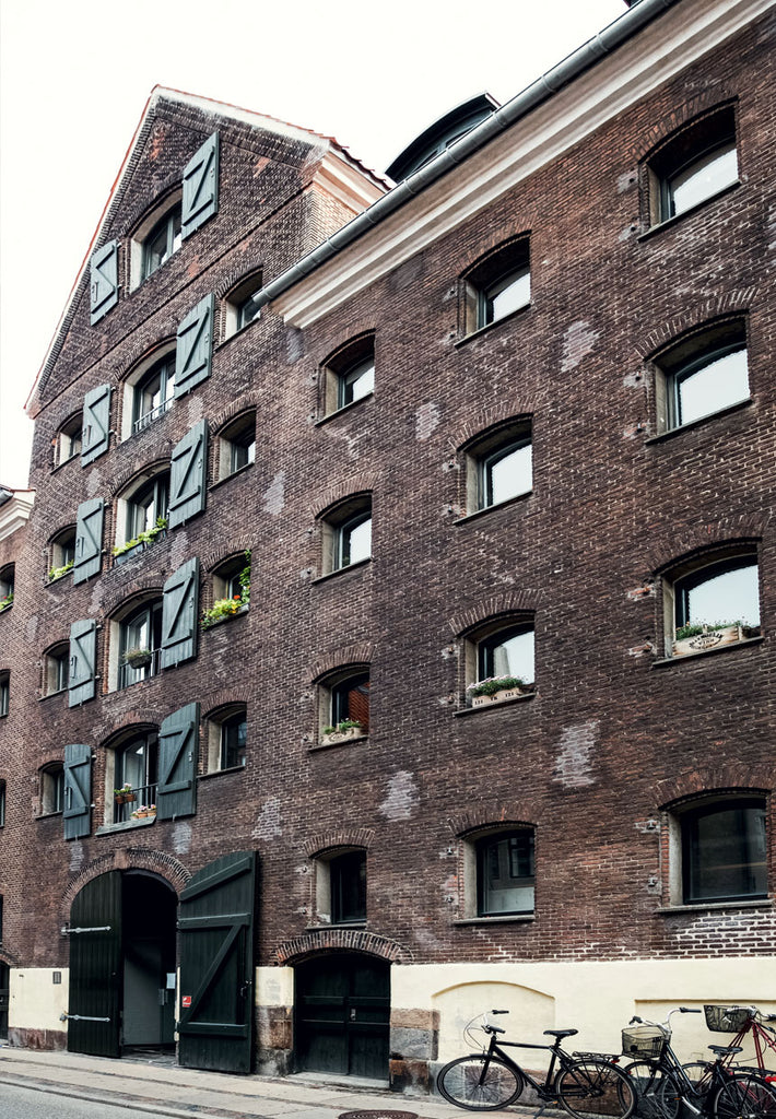 warehouse built in 1777 converted into apartments in Copenhagen