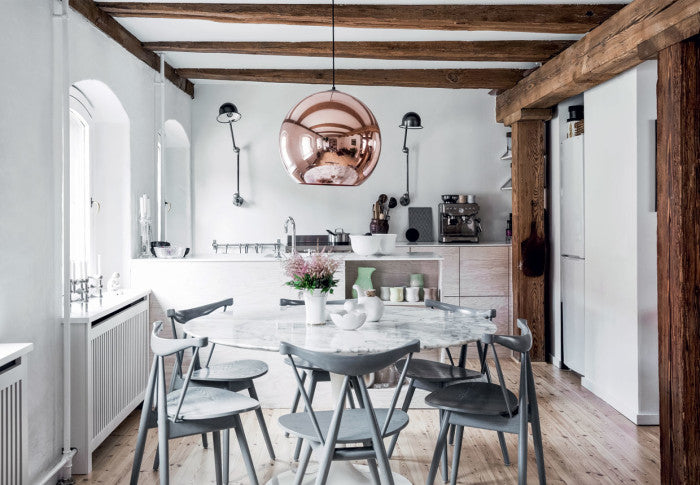 Kitchen in old Copenhagen warehouse