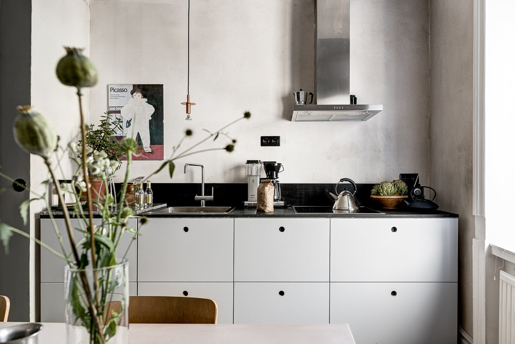 Small but efficient kitchen counter