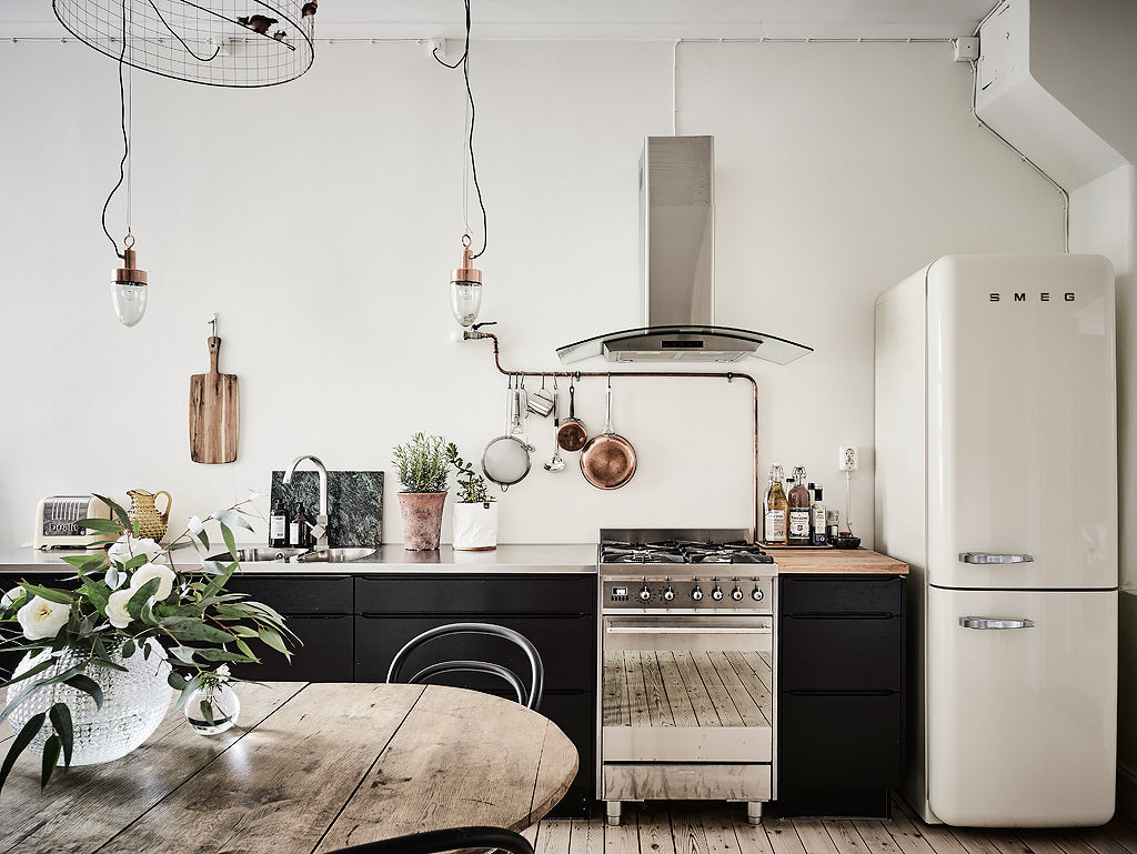 Stunning kitchen in Gothenburg apartment