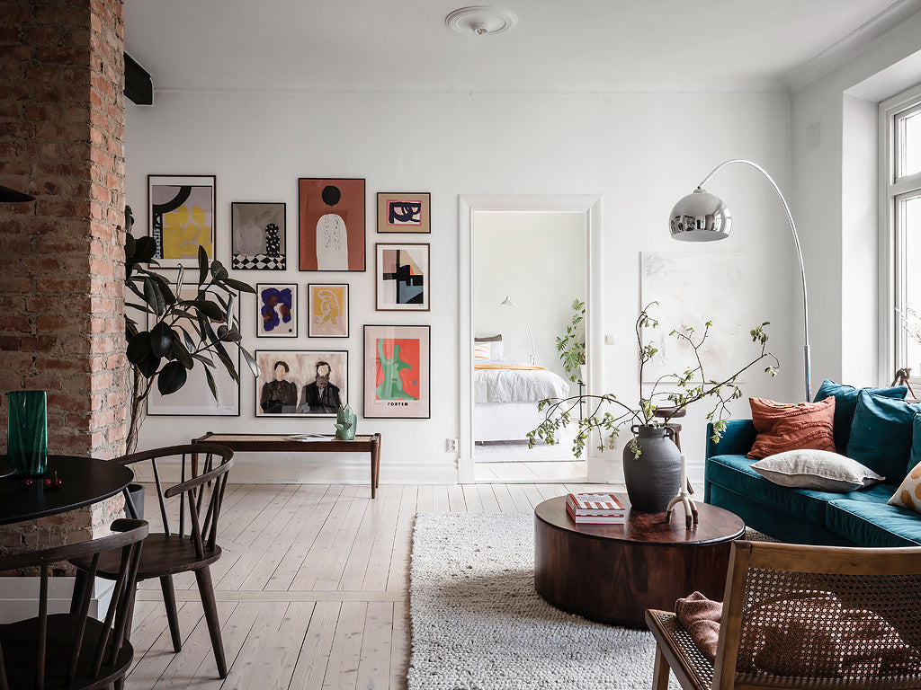 Stunning Scandinavian Style in Swedish Apartment
