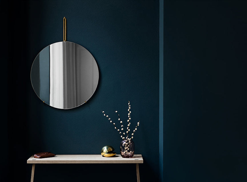 Moebe Wall Mirror | Grøn + White