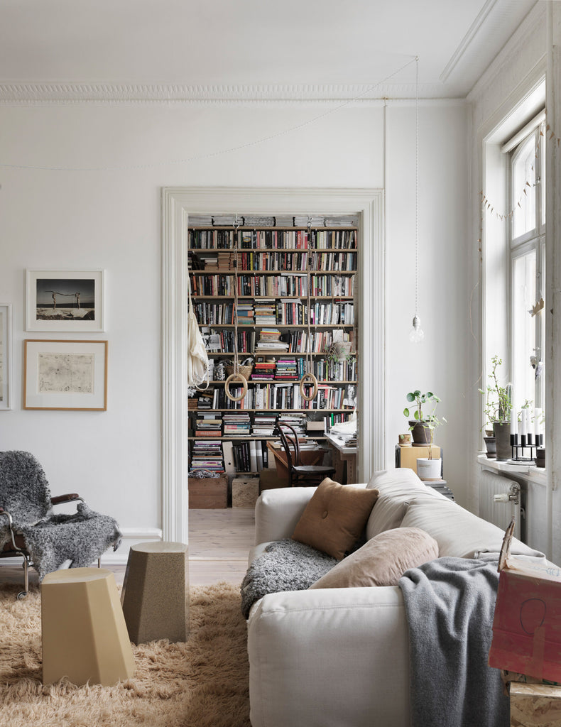 Nina Persson's Eclectic Home in Malmö- 04