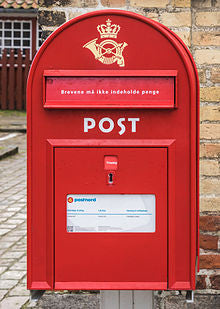 Danish Post Box