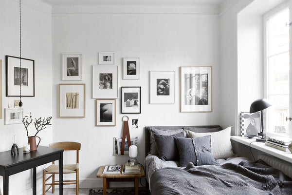 Small Space and Big Style in Stockholm | Grøn + White blog