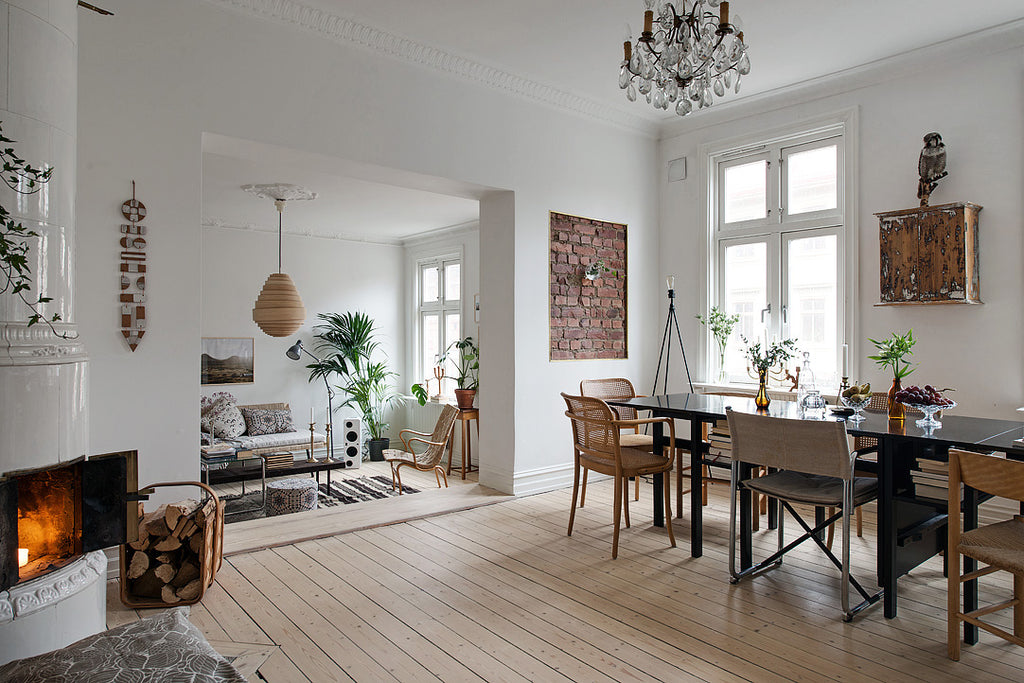 Swedish Home With Personality and Charm