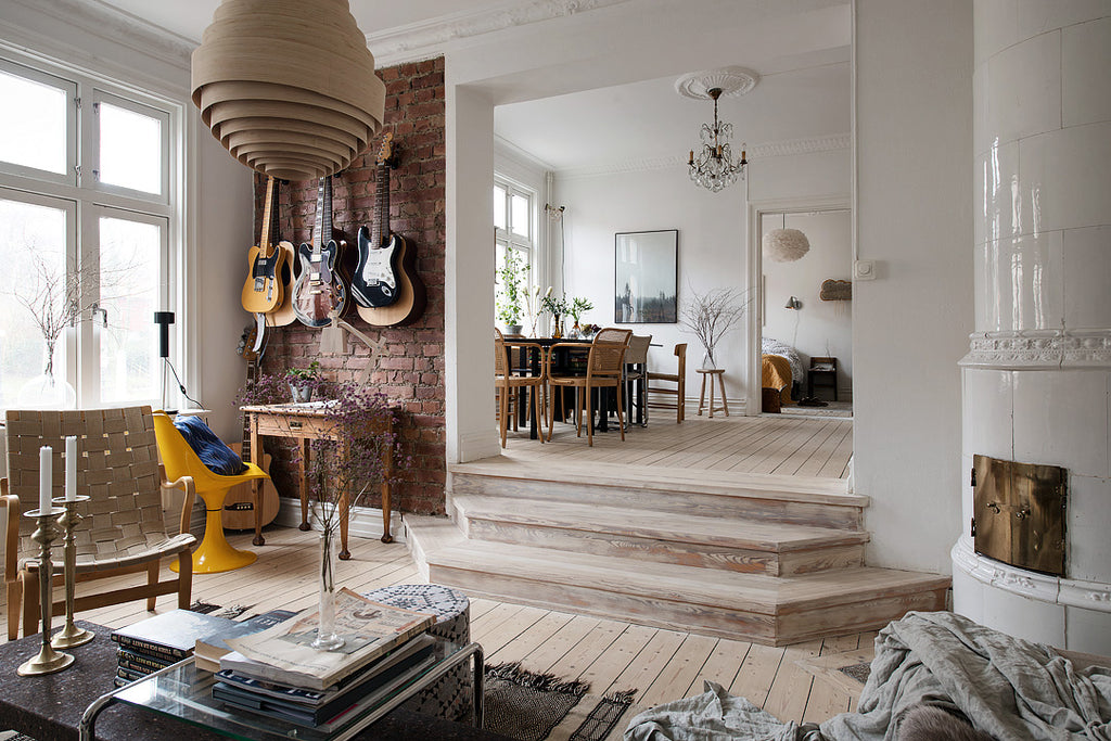 Swedish Apartment with Personality