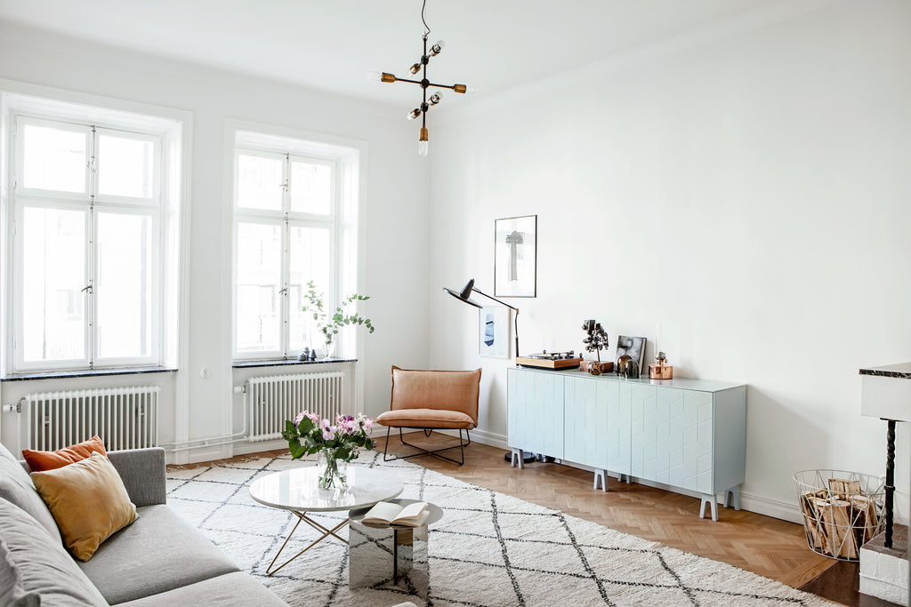 cool and pared down in Stockholm