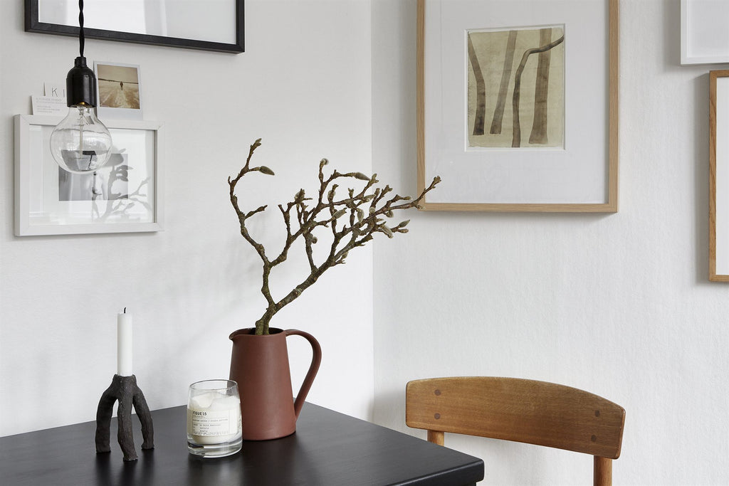Small space big style in Stockholm Grøn + White blog via Fantastic Frank