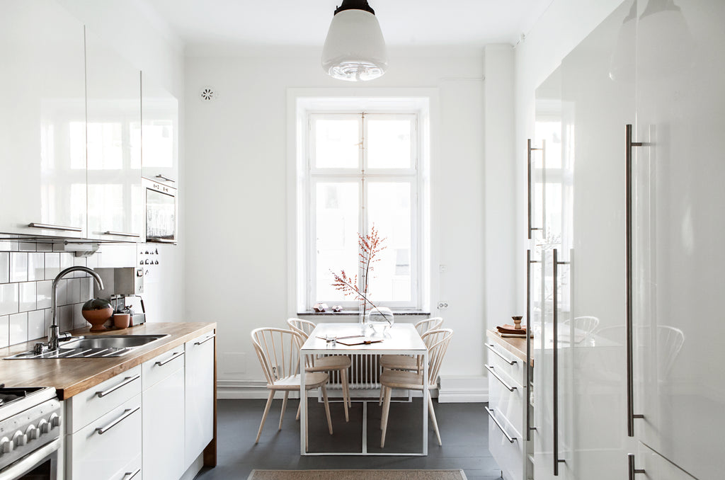 Kitchen of a Stockholm apartment