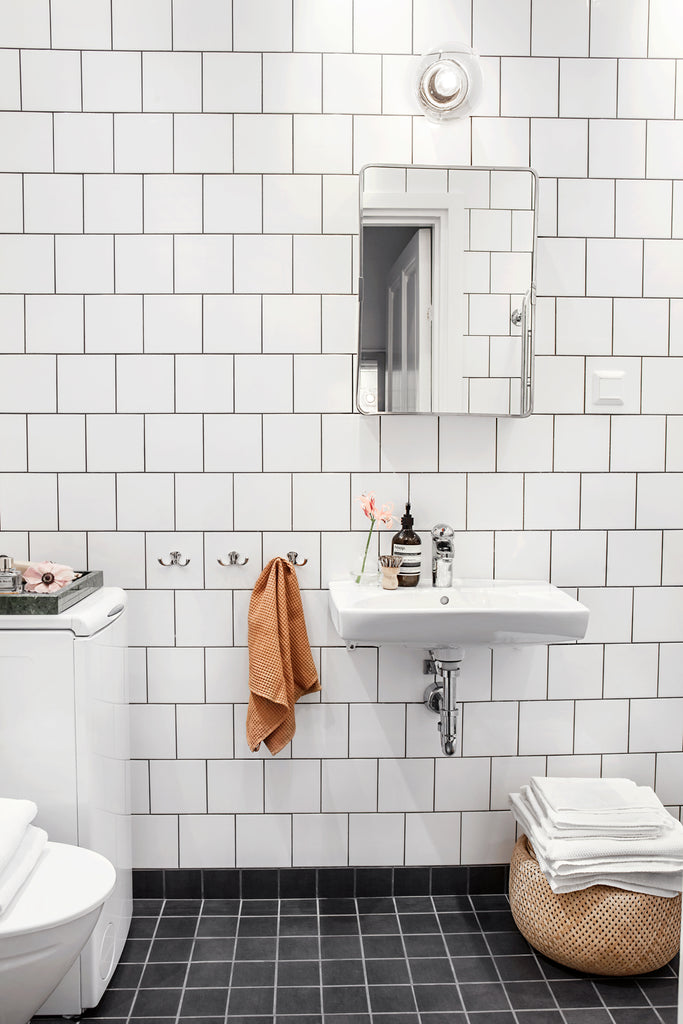 Bathroom in a Stockholm apartment