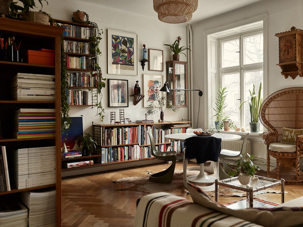 Stockholm apartment with Scandi-Boho Style