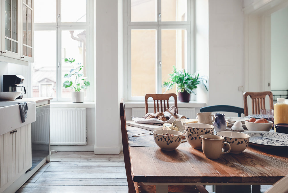 Lovely kitchen in Södermalm apartment