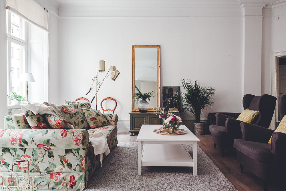 Pretty Scandi style living room