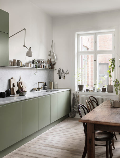 Nina Persson's Malmö home - Scandinavian style kitchen - 02